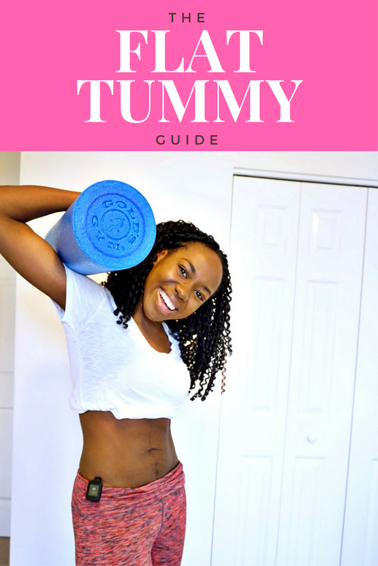 how to get a flat tummy for nigerian women
