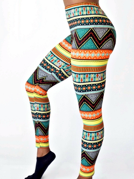 amina side view printed leggings athleisure