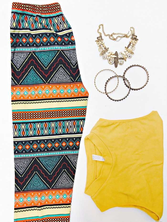 Leggings outfit lookbook lularoe