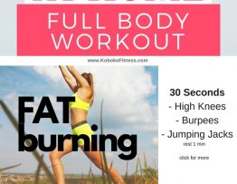 at home workout full body hiit workout for women