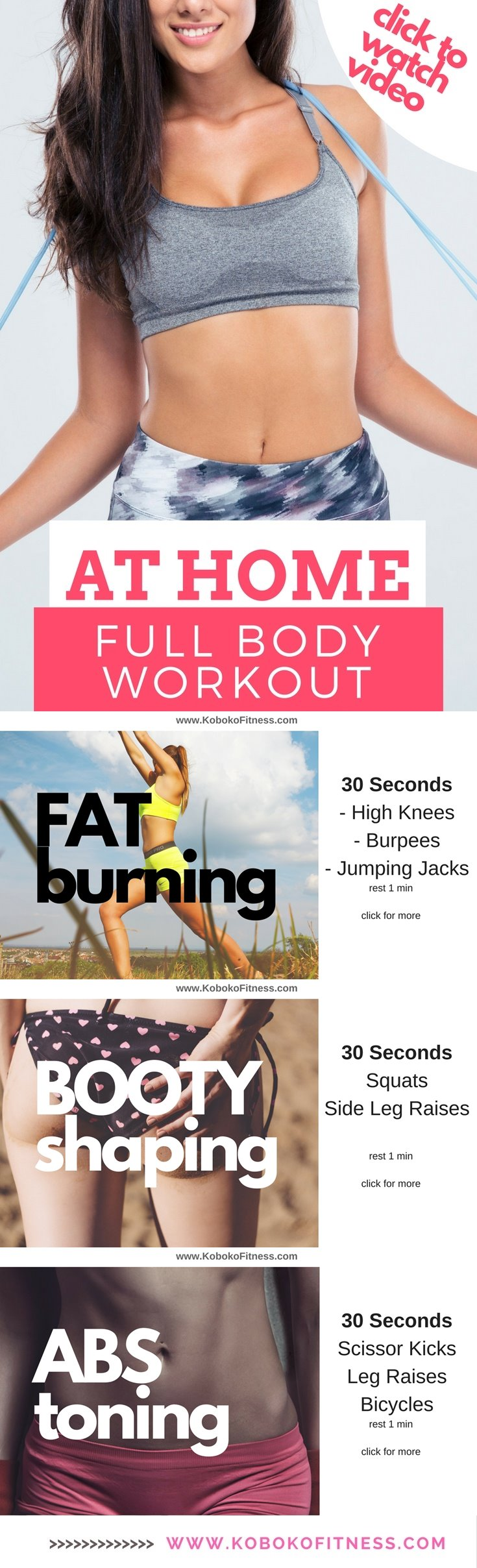 At Home Workout For Women Good Full Body