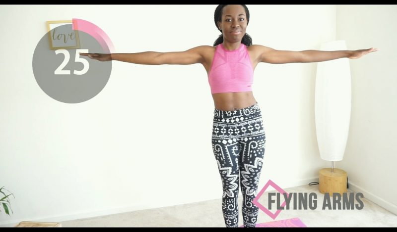 arm workout for women flying arms