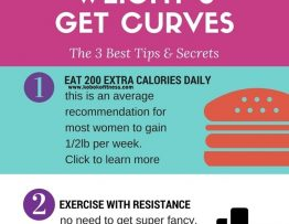 how to gain weight and get curvy hour glass figure