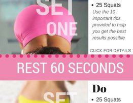 The best squat challenge. Great for getting a perfect butt and toned legs at home