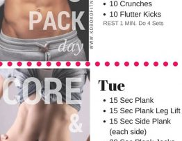 Ab Workout The Best 10 Day At Home Routine Free Printable