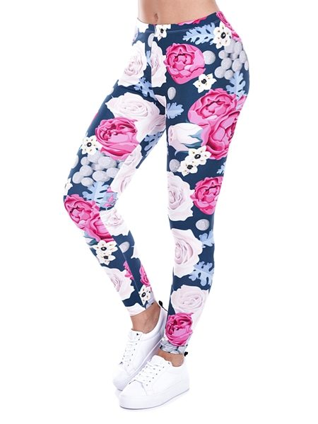 lizza print leggings