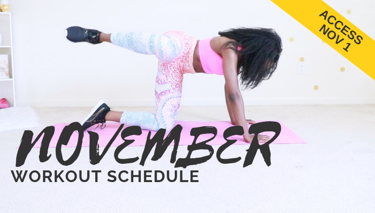 workout for women - full at home routine schedule