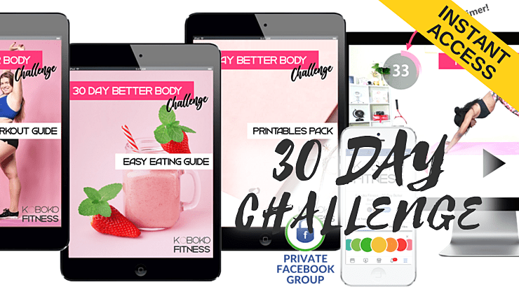 30 day challenge koboko fitness